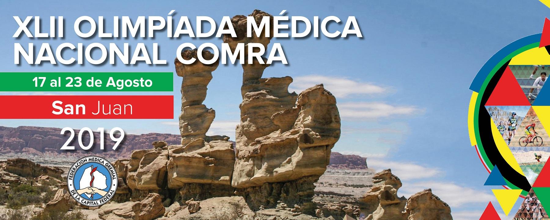 Olimpiadas Médicas Nacionales de la COMRA