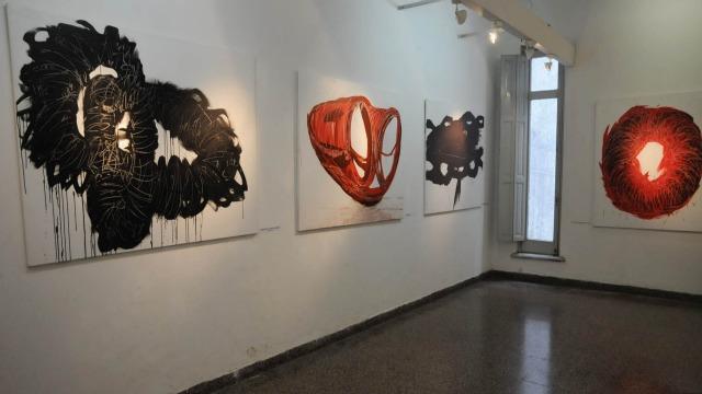 Inauguración y entrega de premios del 2° Concurso de Artes Plásticas 2013