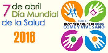 Día Mundial de la Salud 2016 dedicado a la diabetes