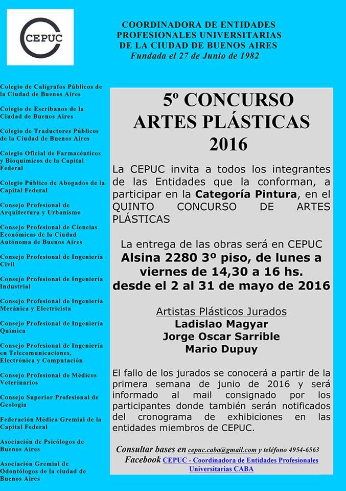 5º Concurso de Artes Plásticas 2016